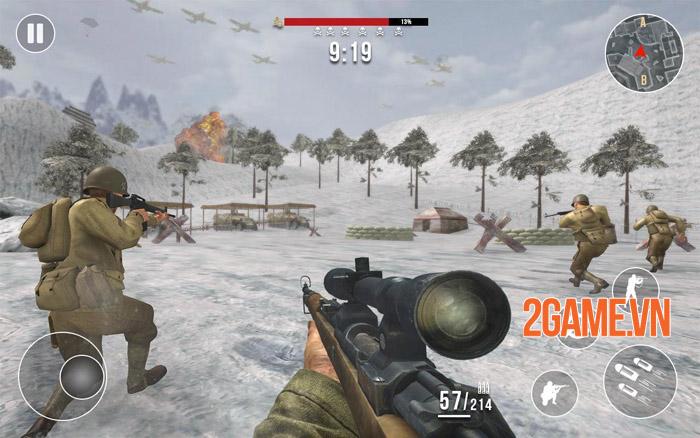 World War Heroes Mobile - Sống lại ký ức hào hùng đệ nhị thế chiến 5