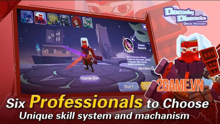 Dreaming Dimension: Deck Heroes - Mỗi màn chơi là một chiến thuật không đụng hàng 2