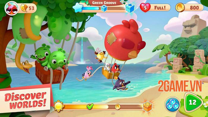 Angry Birds Journey - Cuộc phiêu lưu kỳ thú của Red và đồng bạn 0