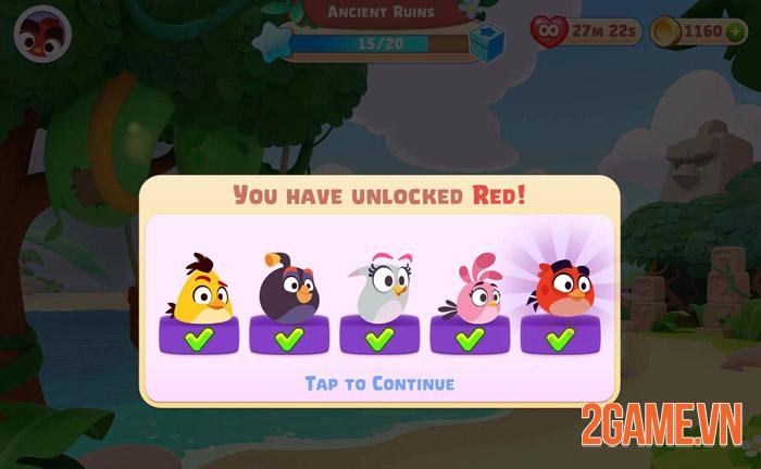 Angry Birds Journey - Cuộc phiêu lưu kỳ thú của Red và đồng bạn 1