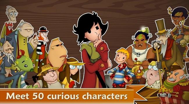 May's Mysteries – Game phiêu lưu giải đố lấy cảm hứng từ Giáo sư Layton