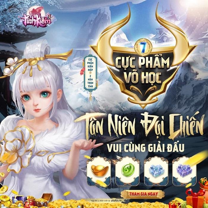 """Tình Kiếm 3D đưa """"Tranh Vàng Vinh Danh"""" miễn phí đến với game thủ Việt 0"""