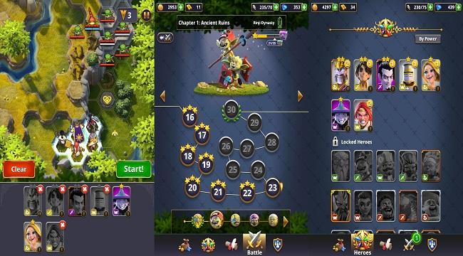 Rivengard – Game nhập vai đánh theo lượt thách thức khả năng chiến thuật