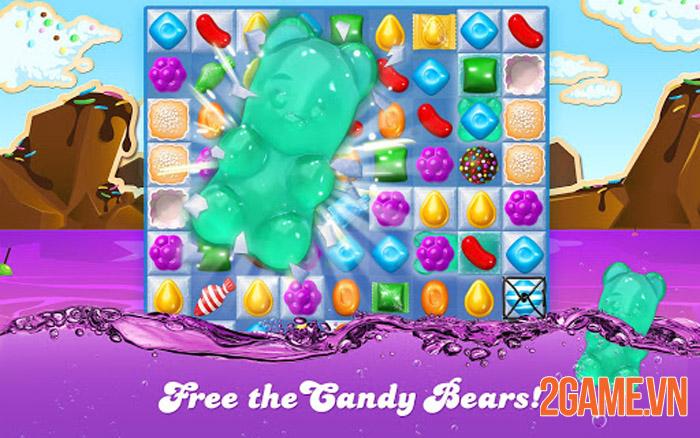 Candy Crush Soda Saga - Pha Trà Xanh hóng hớt theo cách riêng của bạn 3