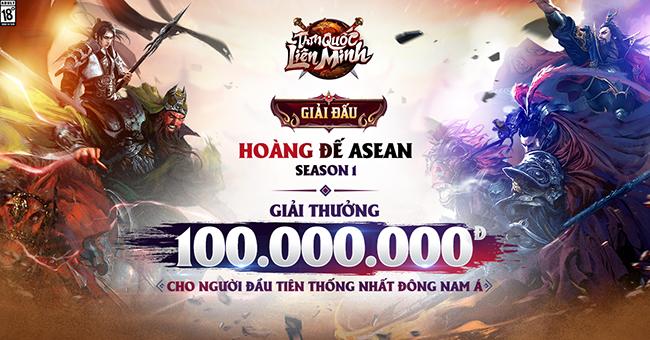 Tam Quốc Liên Minh tổ chức giải đấu Hoàng Đế ASEAN, thưởng 100 triệu cho gamer chiến thắng