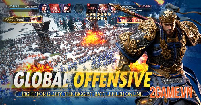 Epic War: Thrones - Game chiến thuật Tam Quốc với đồ họa đẹp như mơ 1
