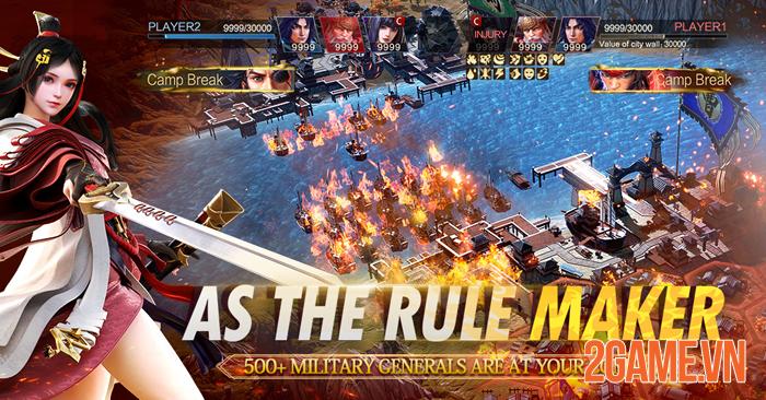 Epic War: Thrones - Game chiến thuật Tam Quốc với đồ họa đẹp như mơ 0