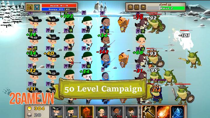 Mystic Hammer - Sự kết hợp giữa game nhập vai hành động và phòng thủ tháp 3