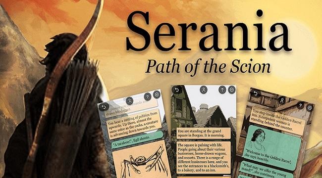 Serania – Path of the Scion: Game nhập vai phiêu lưu bối cảnh giả tưởng Bắc Âu