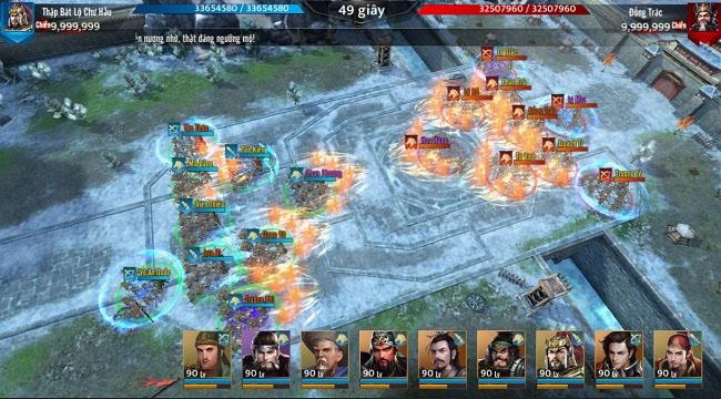 Trải nghiệm Tam Quốc Liên Minh: Đồ họa 4K sống động và gameplay ấn tượng
