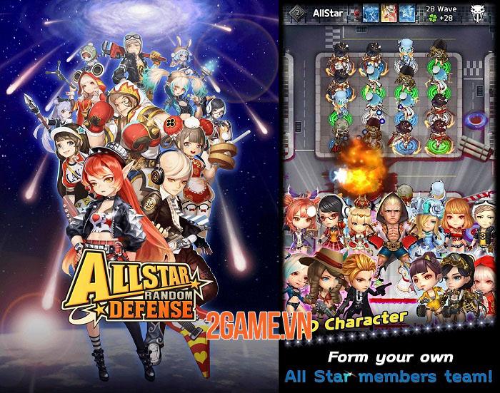Allstar Random Defense - Game phòng thủ tháp kiểm tra giới hạn chiến thuật 2