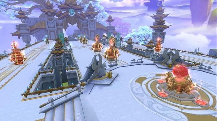 Quốc Vương Tranh Bá: Sân chơi đẳng cấp mới cho bang hội Thương Khung Chi Kiếm 3