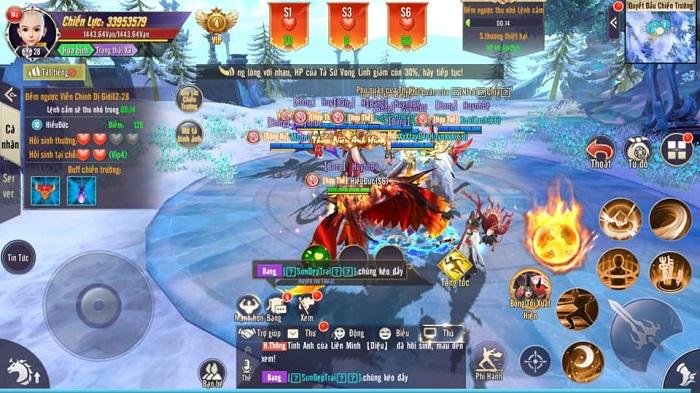 Quốc Vương Tranh Bá: Sân chơi đẳng cấp mới cho bang hội Thương Khung Chi Kiếm 5