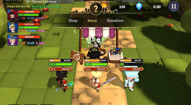 TEARS RAIN – Game TCG kết hợp Roguelike với những cuộc chiến thú vị