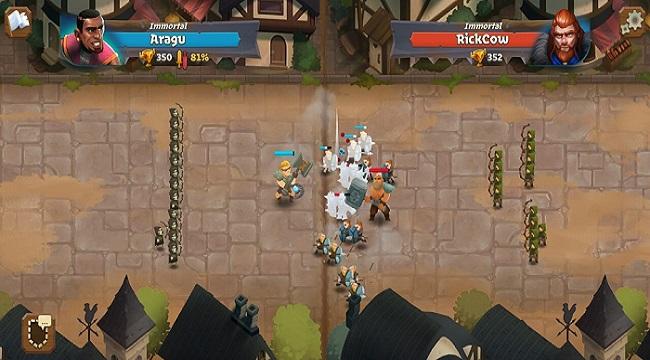 Battle Legion – Game PVP tự động với các trận chiến 100vs100 hoành tráng