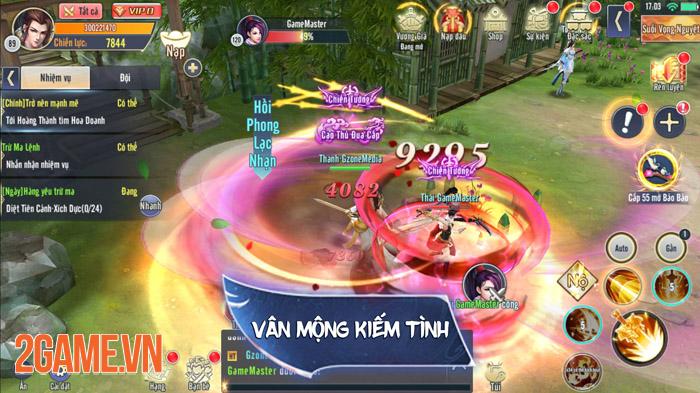 Vân Mộng Kiếm Tình - Sống lại ký ức hào hùng của game kiếm hiệp xưa 2