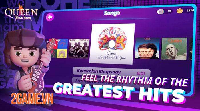 Queen: Rock Tour - Trở thành huyền thoại nhạc Rock cùng những bài nhạc kinh điển 3