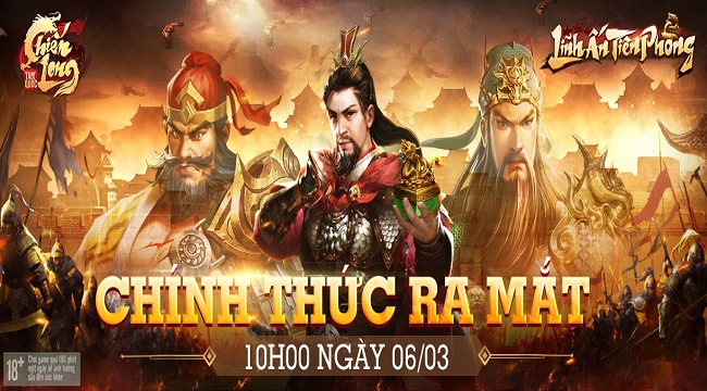 Tặng 700 giftcode game Chiến Long Tam Quốc GOSU