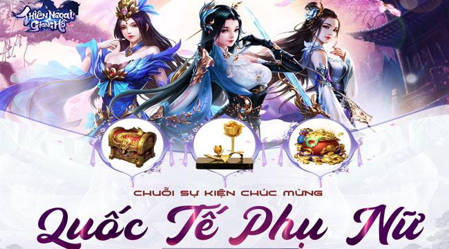 """Chuyện lạ có thật ở Thiên Ngoại Giang Hồ: Phái mạnh được nhận quà """"ngày Phụ nữ"""""""
