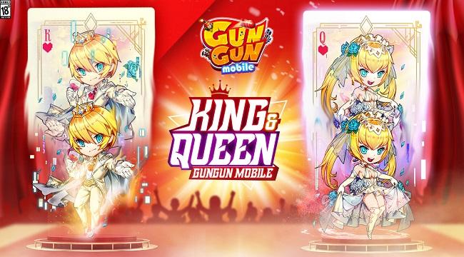 Gun Gun Mobile công bố sự kiện King&Queen 2021, tặng 1 cặp PS5 cho người chiến thắng!