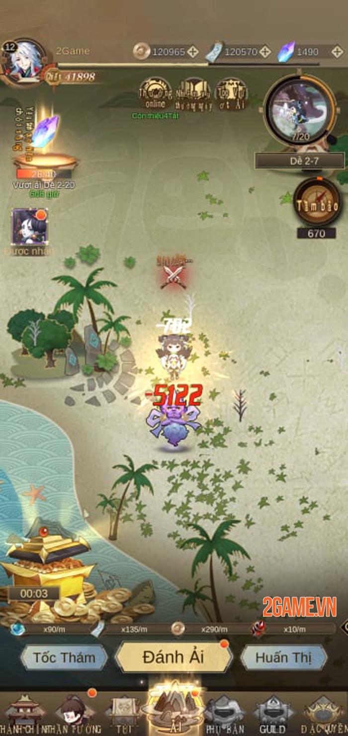 Thám hiểm thế giới Thần Ma độc đáo trong Thánh Thiên Tiên Vực Mobile 4