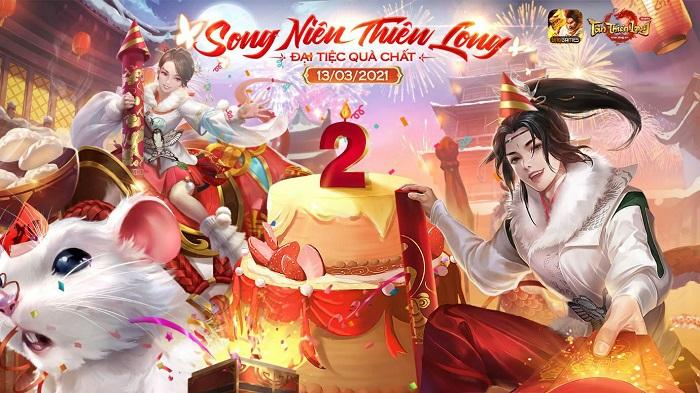 Cộng đồng Tân Thiên Long Mobile chung vui cùng chuỗi sự kiện sinh nhật khủng 1