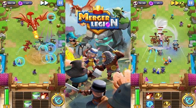 Merger Legion – Game thủ tháp với các phép bổ trợ độc đáo