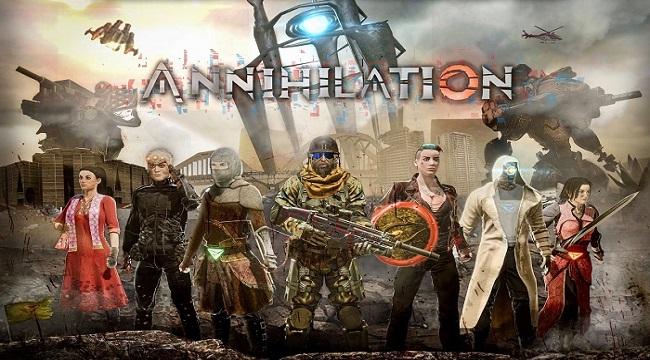 Annihilation Mobile – Cuộc chiến Battle Royale 60 người với nhiều bản đồ thú vị