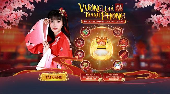 Nghịch Thiên Kiếm Thế tặng quà đua TOP Vương Giả Tranh Phong độc nhất