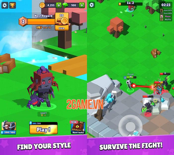 Hunt Royale - Game mobile Battle Royale sắp ra mắt của BoomBit 0