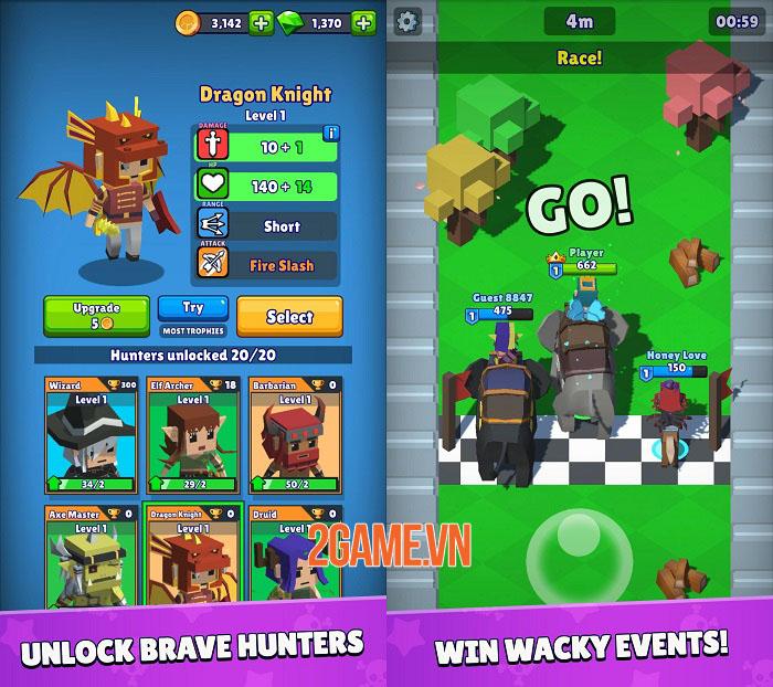 Hunt Royale - Game mobile Battle Royale sắp ra mắt của BoomBit 1
