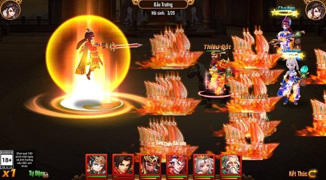 Tạo hình danh tướng Tam Quốc tinh tế trong game chiến thuật Long Tướng 3Q