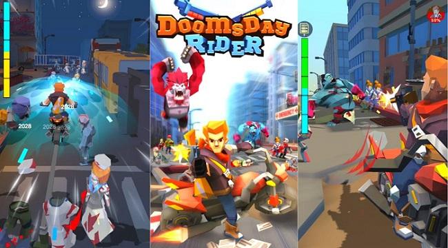 Doomsday Rider – Cưỡi motor lang thang chiến đấu cứu bạn gái