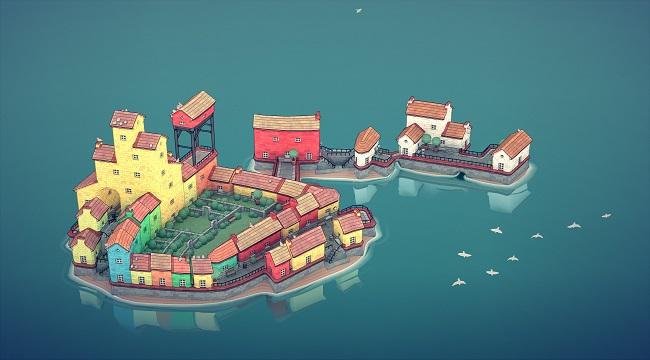Townscaper – Game xây dựng thành phố dễ thương ra mắt mobile cuối năm nay