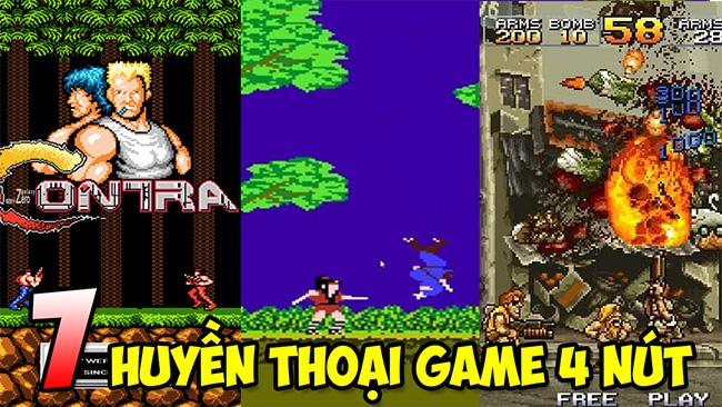 TOP 7 tựa game điện tử 4 nút đã từng một thời làm mưa làm gió trong ký ức game thủ Việt