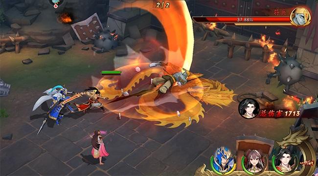 Tân OMG3Q – Hậu bản của game thẻ tướng OMG 3Q cập bến làng game Việt