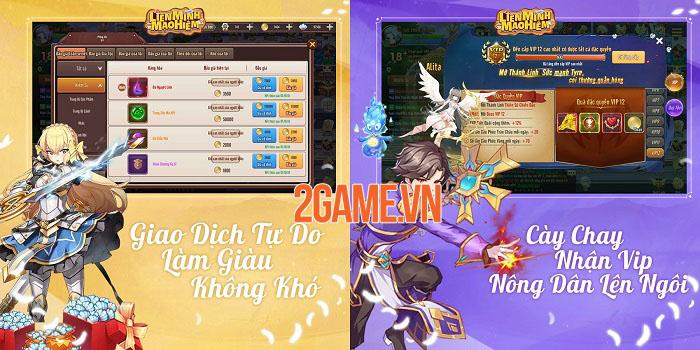 Liên Minh Mạo Hiểm - Game nhập vai màn hình ngang đồ họa anime bắt mắt 3