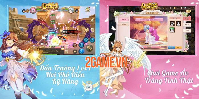 Liên Minh Mạo Hiểm - Game nhập vai màn hình ngang đồ họa anime bắt mắt 2
