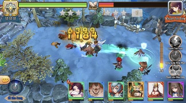 Game đấu tướng chiến thuật Bách Chiến 3Q ấn định Alpha Test