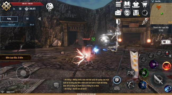 Tứ Hoàng Mobile – Đột phá lối chơi, khẳng định đẳng cấp PK