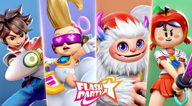 Flash Party – Game đối kháng vui nhộn hấp dẫn trong ngày Hè
