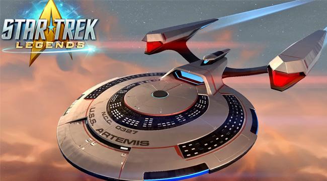 Star Trek: Legends – Du hành vũ trụ cùng phi hành đoàn quen thuộc
