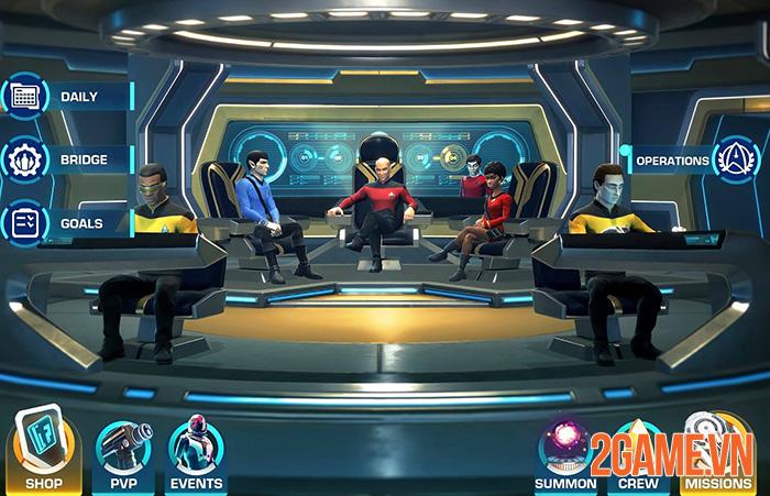 Star Trek: Legends - Du hành vũ trụ cùng phi hành đoàn quen thuộc 0
