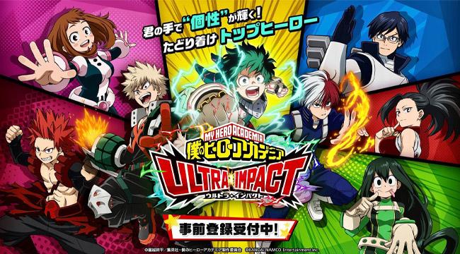My Hero Academia: Ultra Impact – Bom tấn chuẩn bị ra mắt ở Nhật Bản