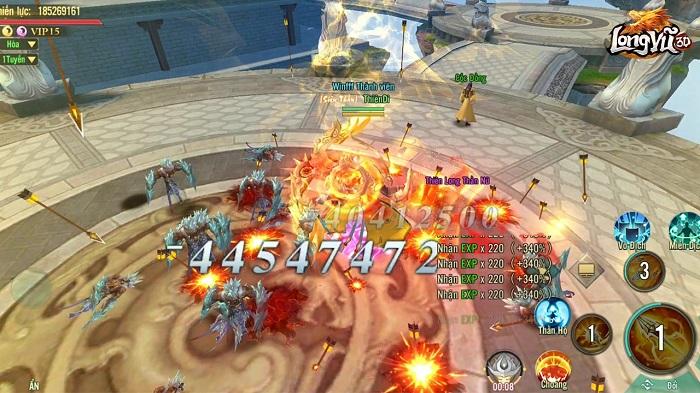 Tặng 100 giftcode game Long Vũ 3D Funtap mừng chính thức ra mắt 5