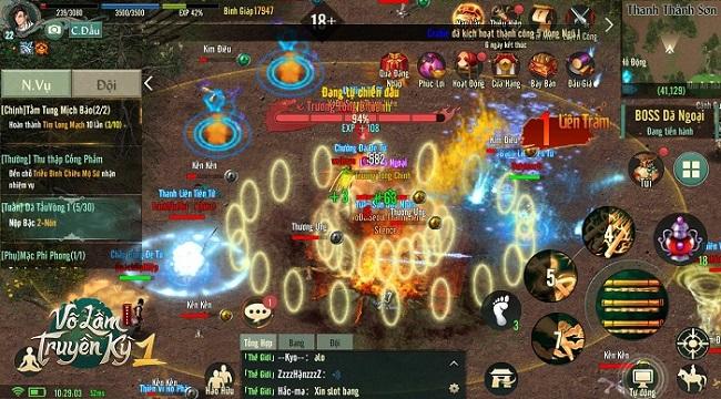 Tặng 1000 giftcode Võ Lâm Truyền Kỳ 1 Mobile mừng ra mắt thành công