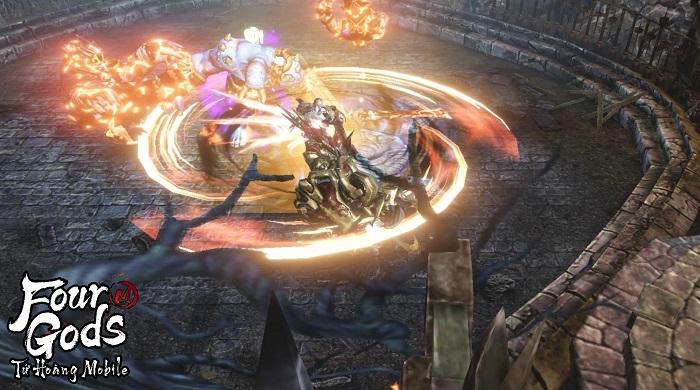 Game thủ tiếc nuối khi khó chiêm ngưỡng trọn vẹn đồ họa Tứ Hoàng Mobile 0