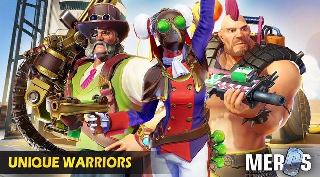 MERCS: Cyber Strike Arena – Truyền nhân Overwatch trên mobile