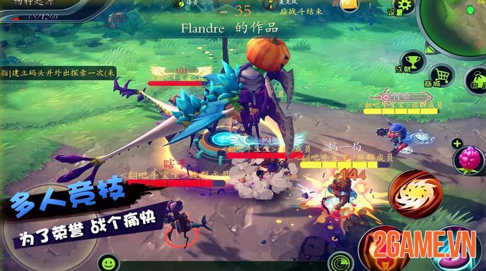 Monster Maker - Game tự thiết kế quái vật và phong cách chiến đấu riêng 4