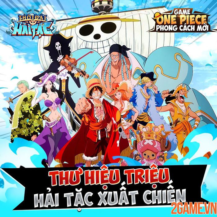 Thời Đại Hải Tặc - Băng qua biển khơi với game One Piece made in Vietnam 2